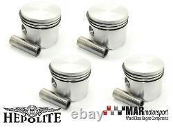 4 x Ford 2.0 OHC Pinto RS 2000 2.1 Conv HEPOLITE PISTONS 93.05mm High Comp