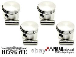4 x Ford 2.0 OHC Pinto RS 2000 Capri HEPOLITE PISTONS 91.30mm High Comp