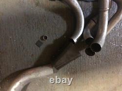 Diy Weld Up Ford Pinto Ohc Kitcar Exhaust Manifold Kit Big Primaries 4-2-1