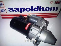 Fits Ford Escort Mk2 Rs2000 2.0 Ohc Pinto New Lightweight Uprated Starter Motor