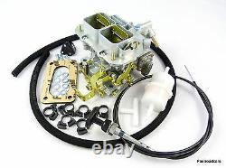 Ford 1.6 Ohc Pinto/ 1.6 X/flow Weber 32/36 Dgv Carb/carburettor With Fitting Kit