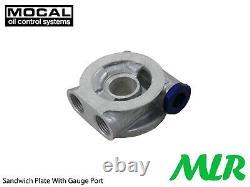 Ford Escort Mk1 Mk2 Capri Ohc Pinto Mocal 5/8bsp Oil Cooler Fitting Kit Zo5-3/4