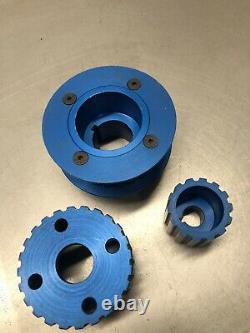 Ford Pinto OHC Pulley Kit Drive Belt Escort Mk1 Mk2 Alternator Water Pump Belt