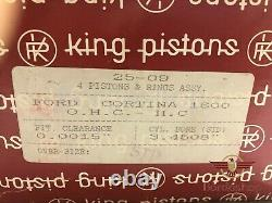 HC Piston Ring Standart Size For Ford Cortina Sierra 1,6 OHC Pinto Motors