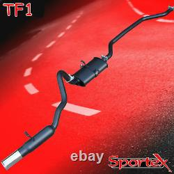 Sportex Ford Capri 1.6, 2.0 OHC Pinto performance exhaust system S3