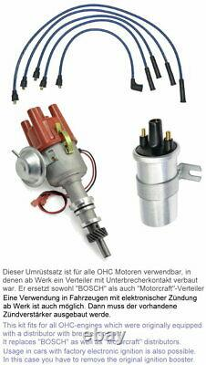 Zündverteiler OHC 1,6-2,0l Umrüstsatz kontaktlose Zündung FORD Cortina MK4