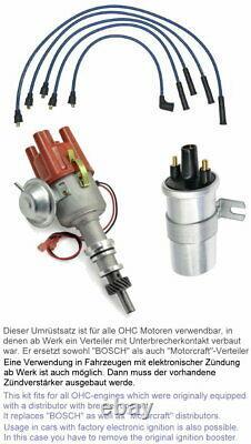 Zündverteiler OHC 2,0l RS 2000 Umrüstsatz kontaktlose Zündung FORD Escort MK1