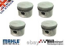 4 X Ford 2.0 Ohc Pinto Rs 2000 Capri Mahle Pistons Std 90.83mm High Comp
