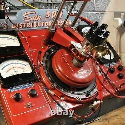 Ford Pinto Distributeur Électronique Ohc 4 Cyl Moteur Avec Rouge 8mm Plombs Et Bobine