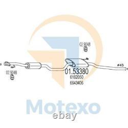 Mts 01.53380 Ford D'échappement Sierra 2.0 Ohc 105hp 08/85 02/87