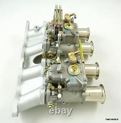 Weber Twin 45 Dcoe Carburettor Kit Ford 2.0/2.1 Ohc Pinto Escort-capri-kitcar